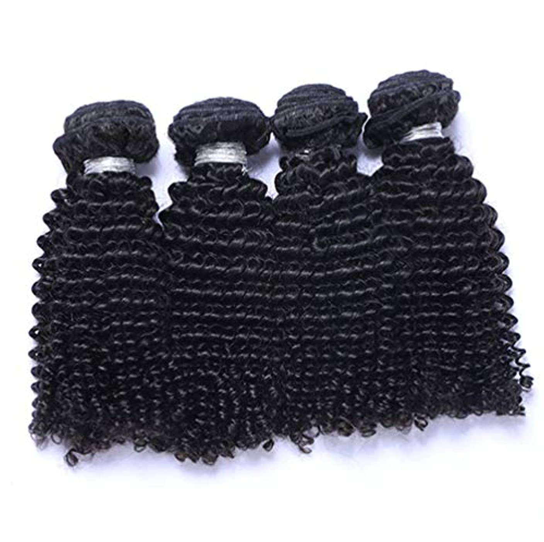 作物同僚解凍する、雪解け、霜解け髪織り未処理ブラジルディープカーリーヘアバンドル本物の人間の髪バンドルバージンブラジル髪バンドル1ピース/パックナチュラルカラー