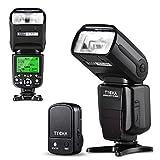 Tycka プロフェッショナル i-TTL フラッシュ・ストロボ スピードライト 2.4Gワイヤレストリガーリモート付き Nikon DSLRカメラ対応 58GN マスター&スレーブモード 1/8000s高速同期