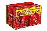 [訳あり(賞味期限 2018年3月8日)]ワンダ モーニングショット 缶 185g×(5本+1本)×5個