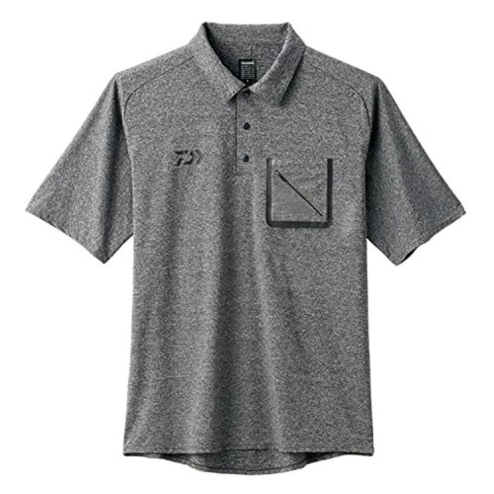 グレートオーク感謝している飛び込むダイワ(DAIWA) ストレッチショートスリーブ ポケット付きポロシャツ DE-57008