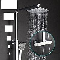 ハードウェアBath部屋シャワー定数温度バーのシャワーシャワー、すべてのクロム銅ガラスホーム継手シャワー