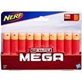 NERF MEGA - 10 Pack Official Darts - Compatible with Fortnite TS Tactical Shotgun, Mastodon, Twinshock & DoubleBreach Blasters - Kids Toys - Ages 8+