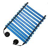 TOMSHOO トレーニングラダー アジリティラダー サッカー フットサル練習 瞬発力 敏捷性 アップ 収納袋付き プレート 11枚