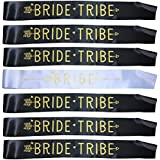Bride Tribe Sashes Hen Party Sashes Bachelorette Decoration Team Bride and Girls Ladies Night Out Party Favors Accessories (7 Pcs)