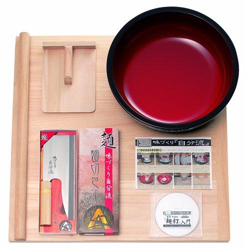 家庭用麺打セットA そば うどん麺打入門DVD付 A-1230