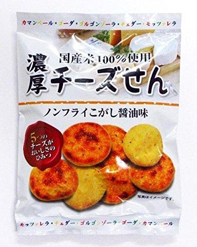 濃厚チーズせん (ノンフライこがし醤油味) 35g×30袋【同梱・代引不可】