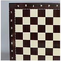 Yenigun Chess Board - Alphanumeric Wood Grain by YENIGUN [並行輸入品]