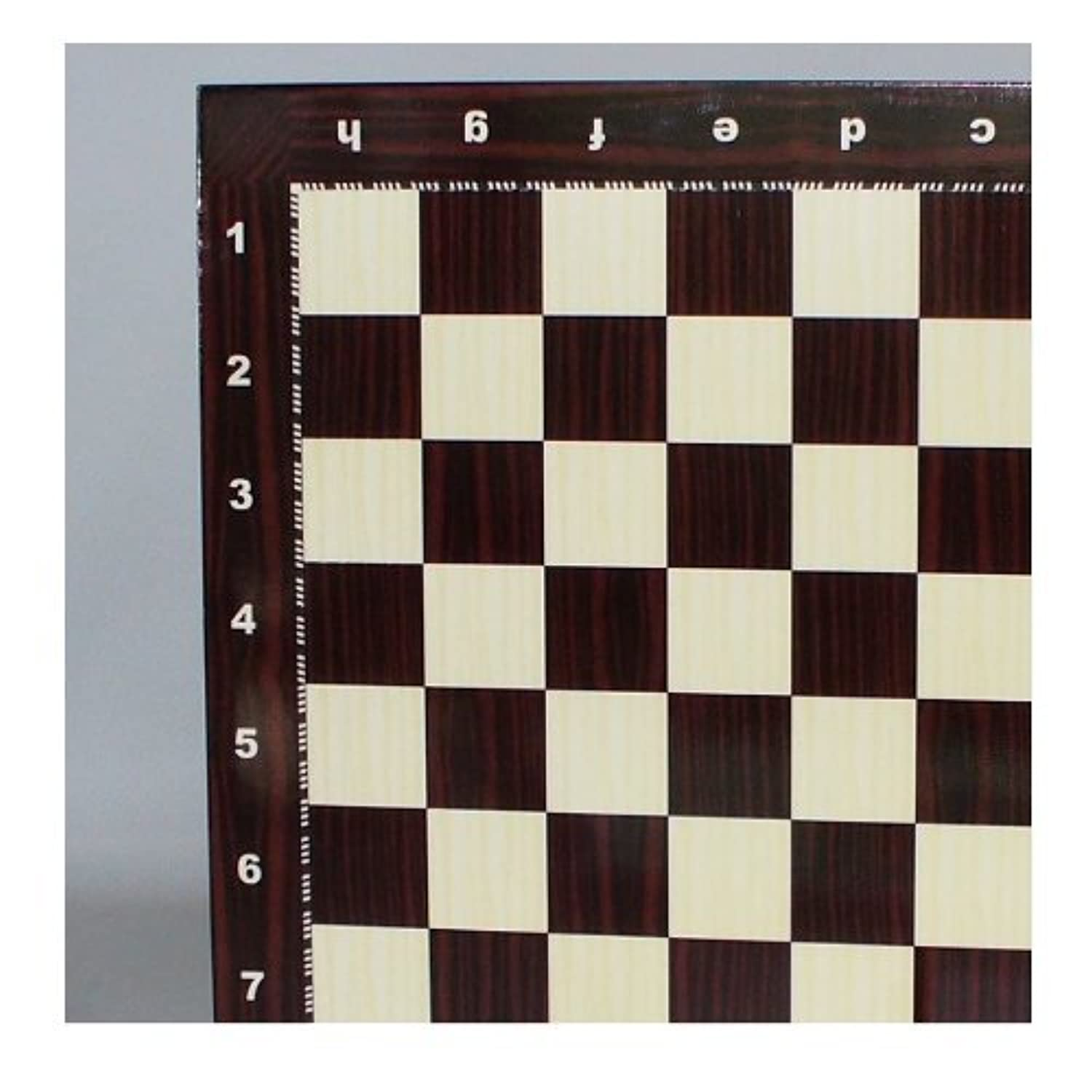 Yenigun Chess Board - Alphanumeric Wood Grain by YENIGUN [並行輸入品]