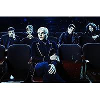 My Chemical Romance Music Band Groupニースシルク生地壁ポスター印刷 36 inch x 24 inch