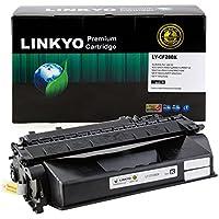 60-pack LINKYO交換用トナーカートリッジHP 80X cf280X (ブラック、高Yield)