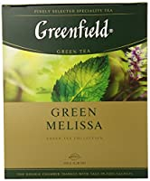 Greenfield Teas, 100 Teabags (Green Melissa)