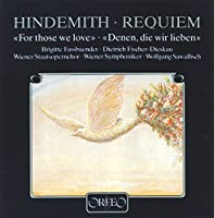 Requiem for Those We Love by P. Hindemith (2013-05-03)