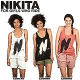 【nkt-nagatank】【NIKITA】ニキータ 2013春夏/NAGA TANK レディースタンクトップ ノースリーブTシャツ/XS・S・M・L/3カラー/tanktop アイコンプリント 女性向け