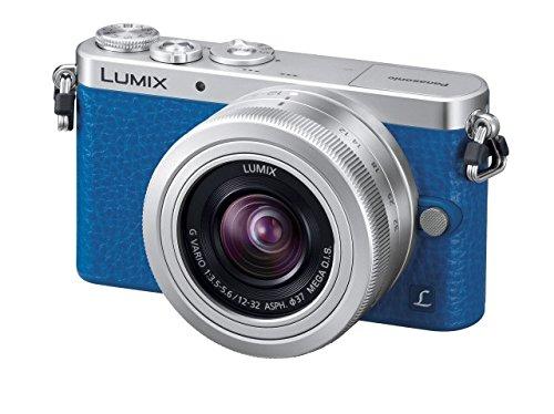 Panasonic ミラーレス一眼カメラ GM1S レンズキット ブルー DMC-GM1SK-A