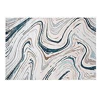 カーペット 現代のクリエイティブ長方形カーペット快適なソフトポリプロピレンラグベッドルームリビングルームホームデコレーションラグ じゅうたん (Color : A, サイズ : 200x290cm)