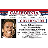 Governator Fun Fake ID License by Signs 4 Fun