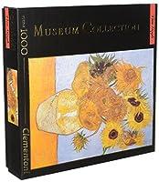 Clementoni Museumコレクション・ファン・ゴッホひまわりジグソーパズル( 1000ピース)