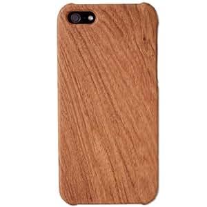 タンスのゲン 【天然木のぬくもり】 iPhone5ケース iPhone5s兼用 携帯カバー 木製 ローズウッド 紫檀 1711000103