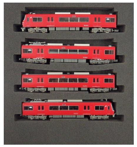 Nゲージ 4345 名鉄5300系 FS315台車 基本4両編成セット (動力付き)