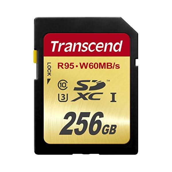 Transcend SDXCカード 256GB ...の商品画像
