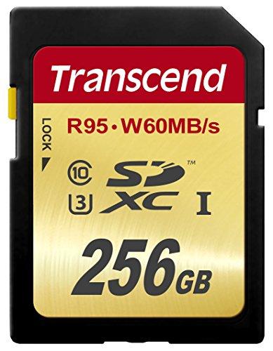 Transcend SDXCカード 256GB UHS-I U3対応 (最大読込速度95MB/s,最大書込速度60MB/s) U3シリーズ 4K動画撮...