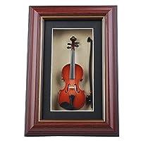 PUNK ミニチュア 木製フレーム 額縁 弦楽器シリーズ 楽器 人気 プレゼント 日用品 記念品 インテリア チェロ