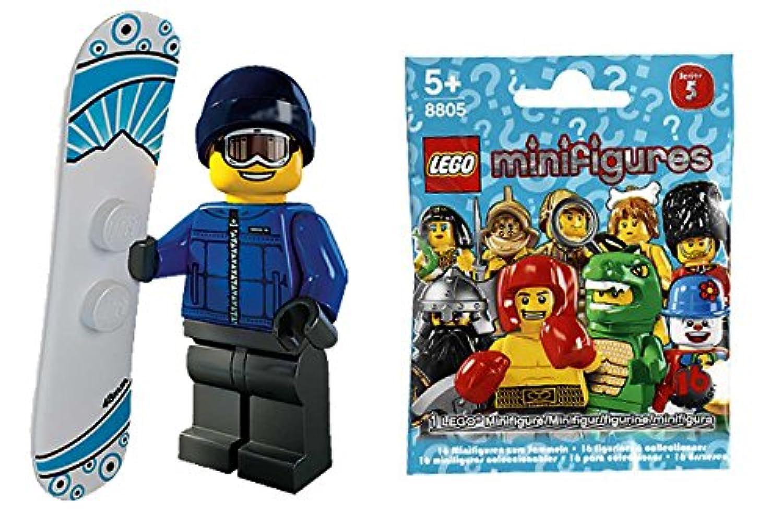 レゴ(LEGO)ミニフィギュア シリーズ5 スノーボーダー(snowboarder Guy)【8805-16】