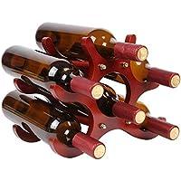 ワインラック スタイルの木製赤ワインラックの装飾品 クリエイティブヨーロッパ