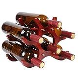 Best ワインラック - ワインラック スタイルの木製赤ワインラックの装飾品 クリエイティブヨーロッパ Review