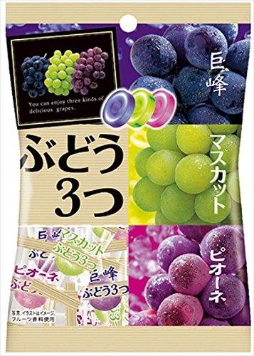 パイン ぶどう3つ 85g(個包装紙込み)×10袋