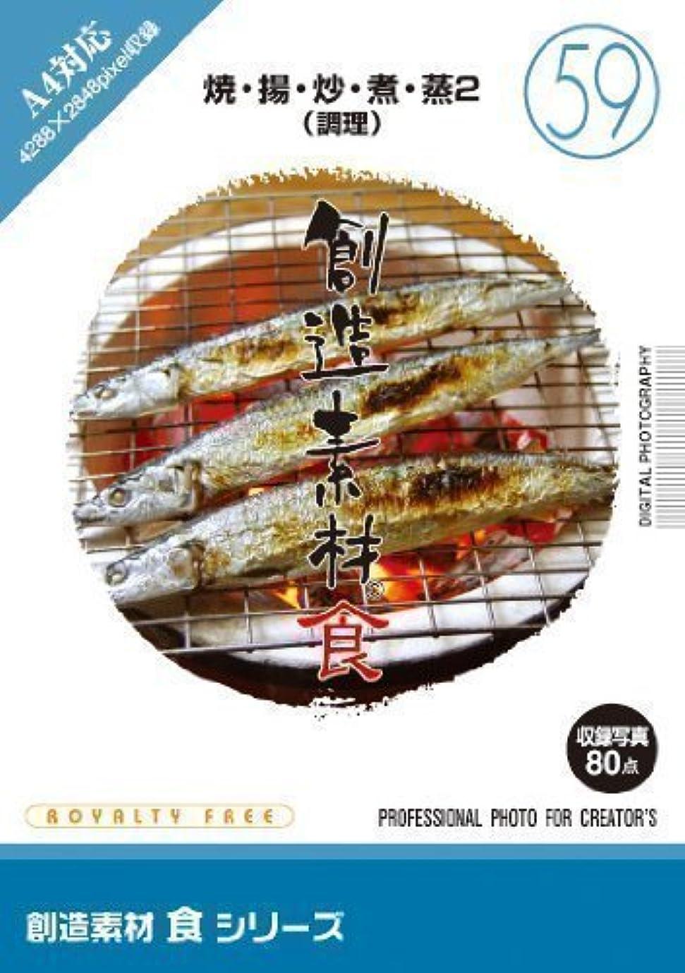 センブランスブル仮定創造素材 食(59)焼?揚?炒?煮?蒸2(調理)