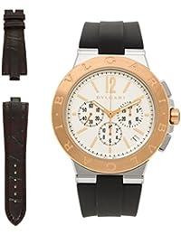 2961b403ae5b [ブルガリ] 腕時計 メンズ BVLGARI DG41WSPGVDCH-SET-BRW ブラック ...