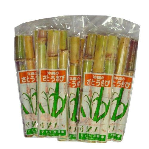 沖縄県産 さとうきび 食用 5パックセット