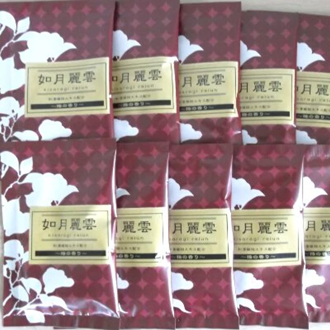 ファンシー引退した甲虫綺羅の刻 椿の香り 10包セット