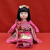 【市松人形】【わらべ人形】【浮世人形】 抱き人形 8号 いちまつ人形 京8号座り百05顔