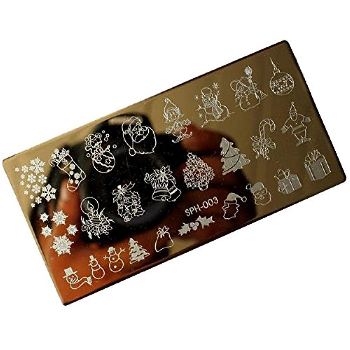 ラショナル顕著中央値[ルテンズ] スタンピングプレートセット 花柄 クリスマス ネイルプレート ネイルアートツール ネイルプレート ネイルスタンパー ネイルスタンプ スタンプネイル ネイルデザイン用品