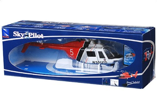 1:34 New Ray Sky パイロット 25717 ベル 206 Jetranger ダイキャスト モデル LAFD Los Angeles CA【並行輸入品】