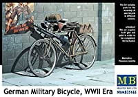 Masterbox 1:35 Scale German Military Bicycle, WWII Era Figure by Masterbox