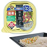 ドギーマン ドッグフード 紗 博多地どり 13歳から用 六穀と緑黄色野菜入り 100g×24個セット (ケース販売)