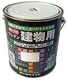 ロックペイント 油性・つや有ウレタン建物用塗料 銀 1.6L H06-0536-6S