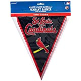 Amscan Major League Baseball Licensed St. Louis Cardinals Pennant Banner Party Decoration Plastic 12' Childrens (Piece) [並行輸入品]