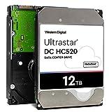 HGST - WD Ultrastar DC HC520 HDD | HUH7212ALE600 | 12TB 7.2K SATA 6Gb/s 256MB キャッシュ 3.5インチ | ISE 512e | 0F30144 | ヘリウムデータセンター 内部ハードディスクドライブ