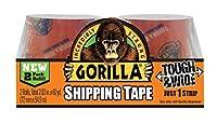 The Gorilla接着会社603040235ヤードクリアパッケージテープ2- Pack Refills