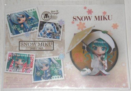 雪ミク (白無垢) パスポートケース SNOW MIKU 2013 新千歳空港 さっぽろ雪まつり KEI パスポート入れ