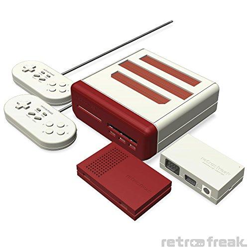 「レトロフリーク」ファミコン/スーファミ/ゲームボーイ/メガドライブ/PCエンジンなど11種類に対応したレトロゲーム互換機