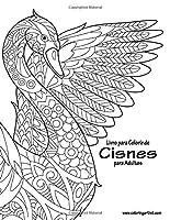 Livro para Colorir de Cisnes para Adultos