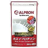 ホエイプロテイン ベリーベリー風味 250g アルプロン