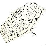 ワールドパーティー(Wpc.) ディズニー日傘 折りたたみ傘 白 50cm レディース ポーチタイプ ミニーマウス/遮光ミニ 801-DS054 OF