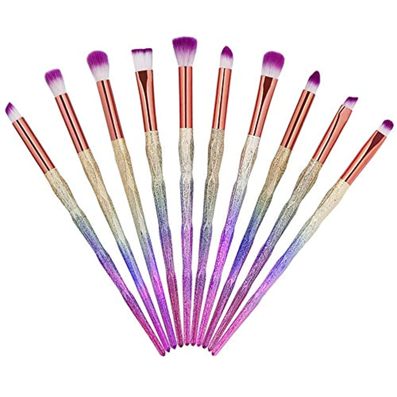 スペースひねりブルームアイシャドウブラシセット メイクブラシ 12本セット 化粧筆 フェイスブラシ 化粧ブラシ 携帯便利 高級繊維毛 化 専用ポーチ