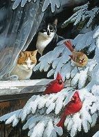 Cobble Hill Bird Watchers Jigsaw Puzzle, 1000-Piece [並行輸入品]
